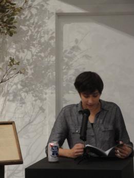 Writer in Residence Erika Staiti