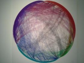 network diagram of Jamaican coral reef food web, by Peter D. Roopnarine, PhD