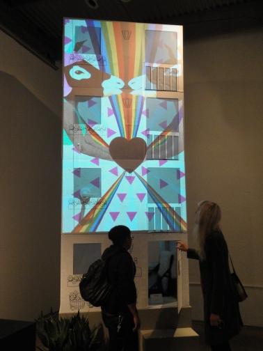installation by Elizabeth Cayne