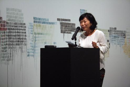 Writer in Residence Cristiana Kyung-Hye Baik